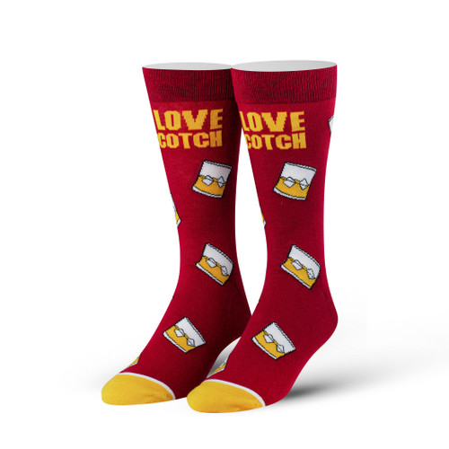 Image for I Love Scotch Socks
