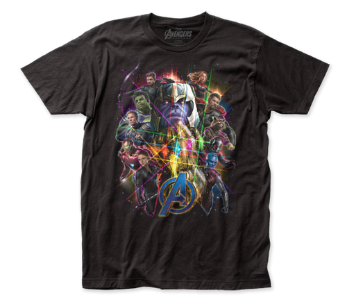 Image for The Avengers Endgame T-Shirt - Full CastThe Avengers Endgame T-Shirt - Full Cast