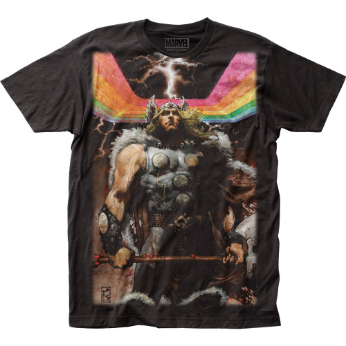 Image for Thor Subway T-Shirt - Rainbow Big Print
