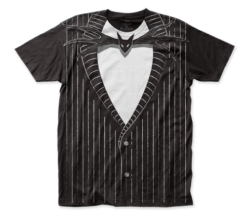 Image for The Nightmare Before Christmas Subway T-Shirt - Jack Skellington Big Print