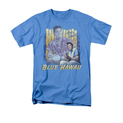 Image for Elvis T-Shirt - Blue Hawaii