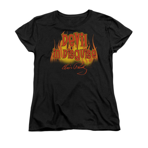 Image for Elvis Woman's T-Shirt - Devil in Disguise