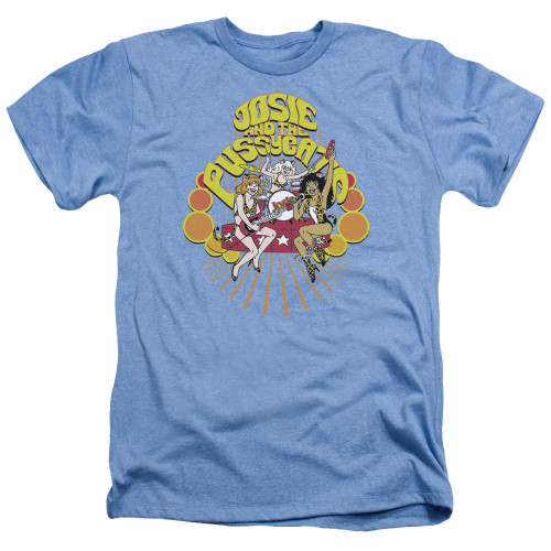Image for Archie Comics Heather T-Shirt - Groovy Rock & Roll