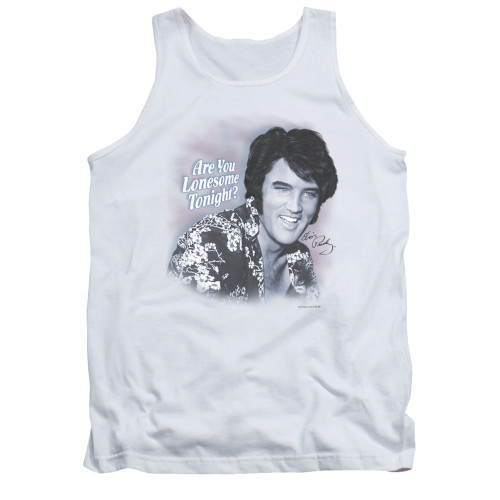Image for Elvis Tank Top - Lonesome Tonight