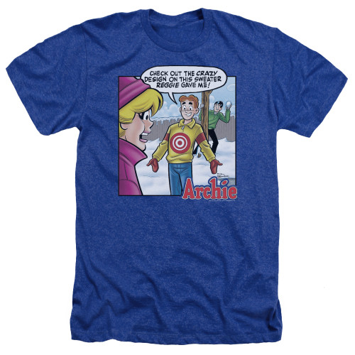 Image for Archie Comics Heather T-Shirt - Crazy Sweater