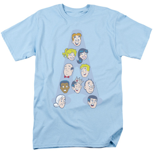 Image for Archie Comics T-Shirt - Character Heads