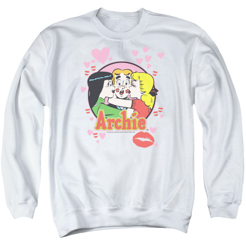 Image for Archie Comics Crewneck - Kisses for Archie