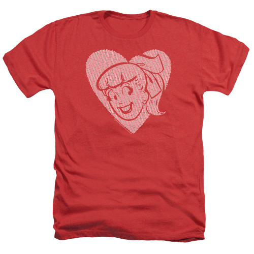 Image for Archie Comics Heather T-Shirt - Betty Hearts