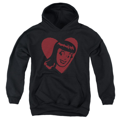 Image for Archie Comics Youth Hoodie - Veronica Hearts