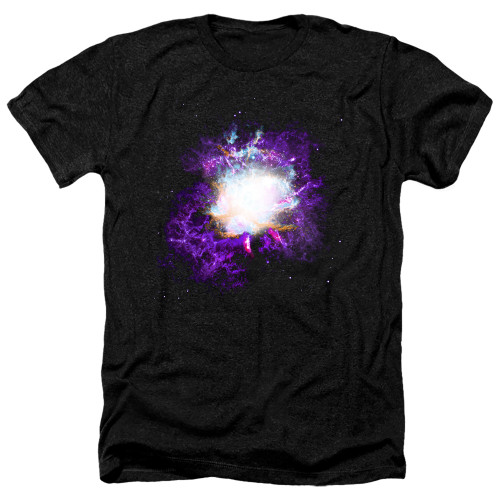 Image for Outer Space Heather T-Shirt - Nebula