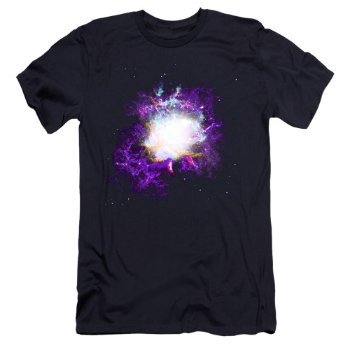 Image for Outer Space Premium Canvas Premium Shirt - Nebula Navy