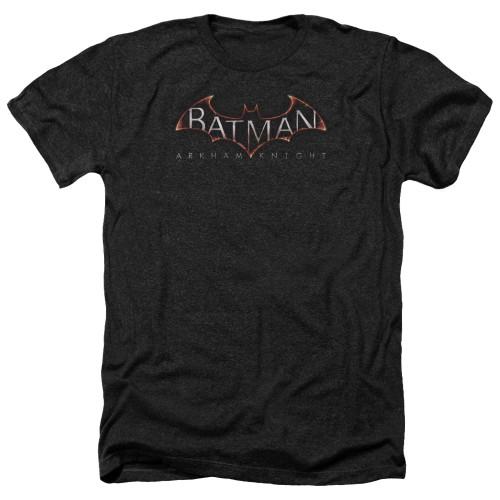 Image for Batman Arkham Knight Heather T-Shirt - Logo