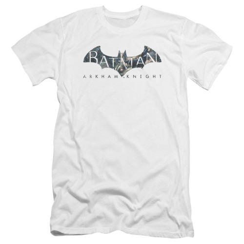 Image for Batman Arkham Knight Premium Canvas Premium Shirt - Descending Logo
