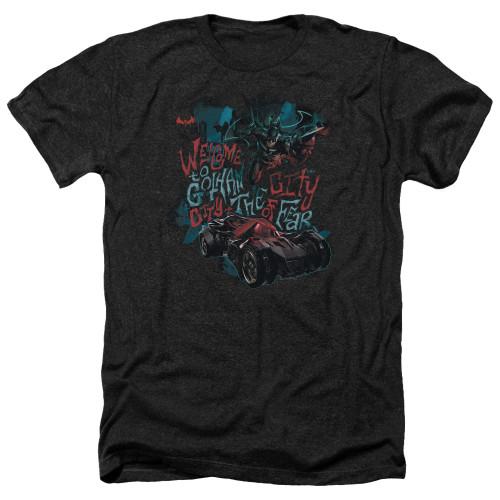 Image for Batman Arkham Knight Heather T-Shirt - City of Fear