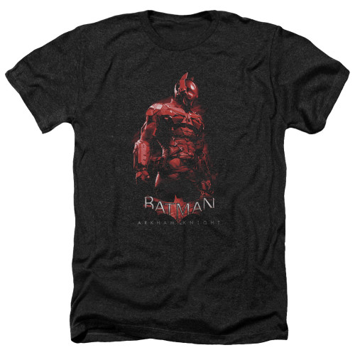 Image for Batman Arkham Knight Heather T-Shirt - Red Knight