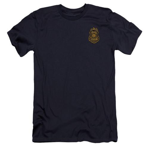 Image for Batman Arkham Knight Premium Canvas Premium Shirt - Gotham Badge