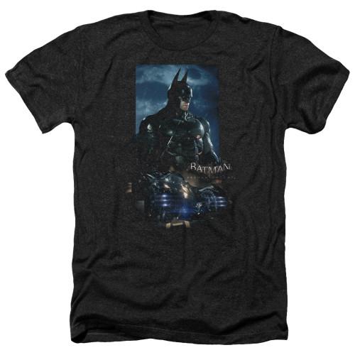 Image for Batman Arkham Knight Heather T-Shirt - Batmobile