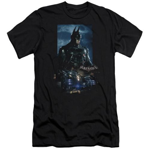 Image for Batman Arkham Knight Premium Canvas Premium Shirt - Batmobile