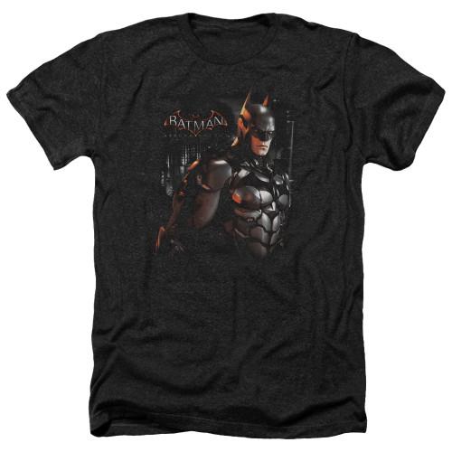 Image for Batman Arkham Knight Heather T-Shirt - Dark Knight