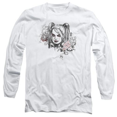 Image for Batman Arkham Knight Long Sleeve T-Shirt - Sketchy Girl