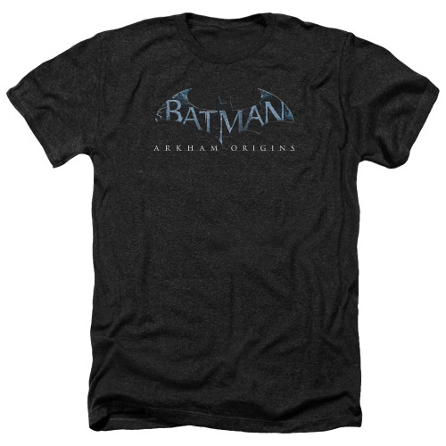 Image for Batman Arkham Origins Heather T-Shirt - Logo