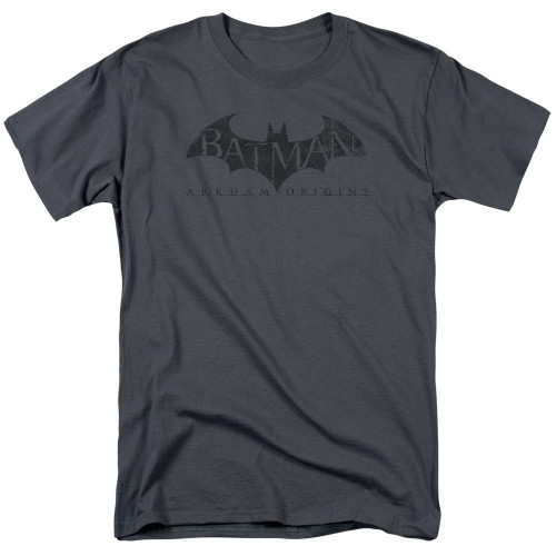 Image for Batman Arkham Origins T-Shirt - Crackle Logo