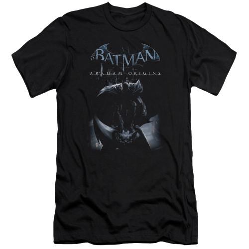 Image for Batman Arkham Origins Premium Canvas Premium Shirt - Perched Cat