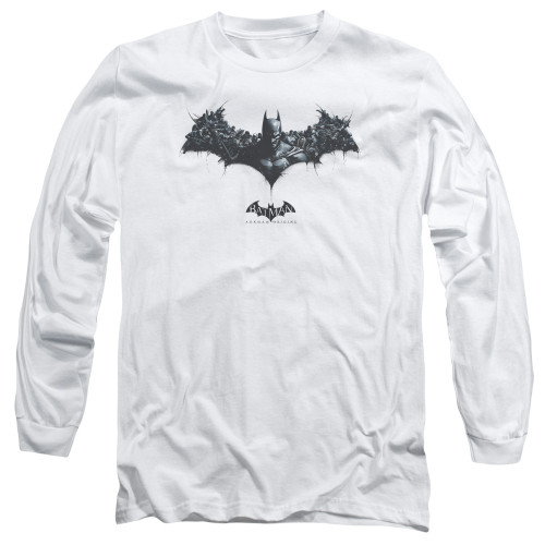 Image for Batman Arkham Origins Long Sleeve T-Shirt - Bat of Enemies