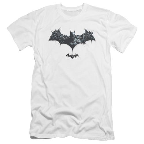 Image for Batman Arkham Origins Premium Canvas Premium Shirt - Bat of Enemies