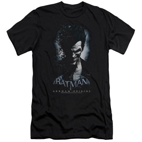 Image for Batman Arkham Origins Premium Canvas Premium Shirt - Joker
