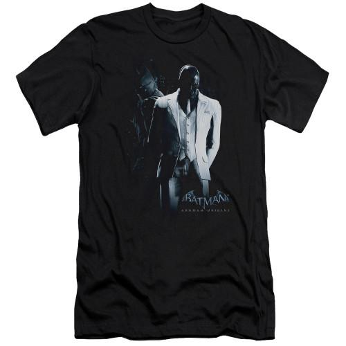 Image for Batman Arkham Origins Premium Canvas Premium Shirt - Black Mask
