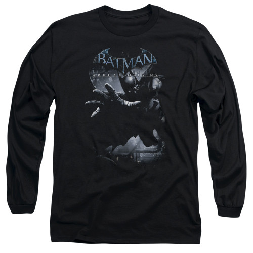 Image for Batman Arkham Origins Long Sleeve T-Shirt - Out of the Shadows