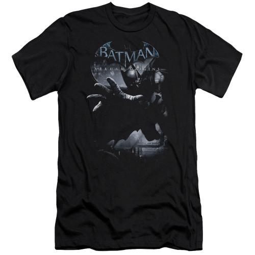 Image for Batman Arkham Origins Premium Canvas Premium Shirt - Out of the Shadows