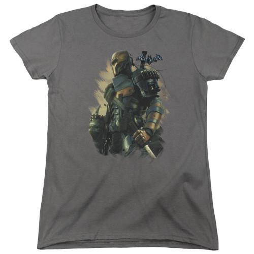 Image for Batman Arkham Origins Woman's T-Shirt - Deathstroke