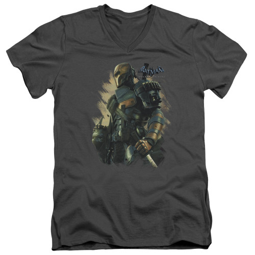 Image for Batman Arkham Origins V-Neck T-Shirt Deathstroke