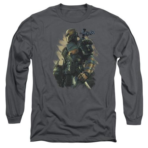 Image for Batman Arkham Origins Long Sleeve T-Shirt - Deathstroke