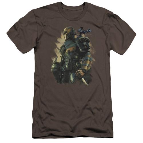Image for Batman Arkham Origins Premium Canvas Premium Shirt - Deathstroke