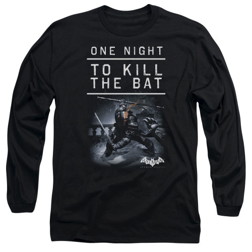 Image for Batman Arkham Origins Long Sleeve T-Shirt - One Night