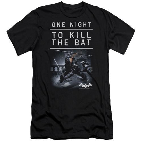 Image for Batman Arkham Origins Premium Canvas Premium Shirt - One Night
