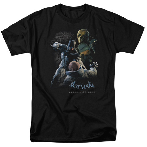 Image for Batman Arkham Origins T-Shirt - Punch