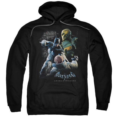 Image for Batman Arkham Origins Hoodie - Punch