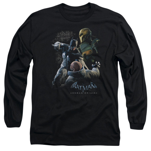 Image for Batman Arkham Origins Long Sleeve T-Shirt - Punch