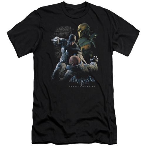Image for Batman Arkham Origins Premium Canvas Premium Shirt - Punch