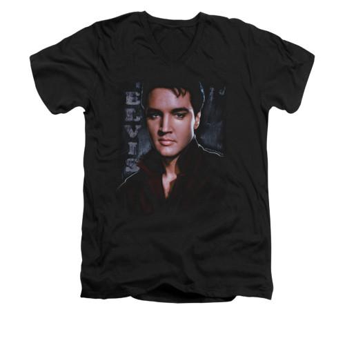 Image for Elvis V-Neck T-Shirt Tough
