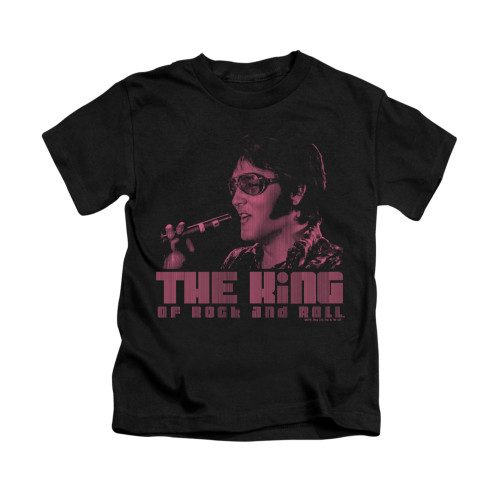 Image for Elvis Kids T-Shirt - Hail to the King
