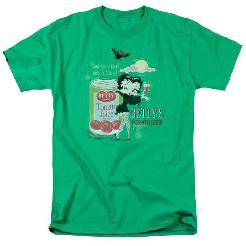 Image for Betty Boop T-Shirt - Vampire Tomato Juice