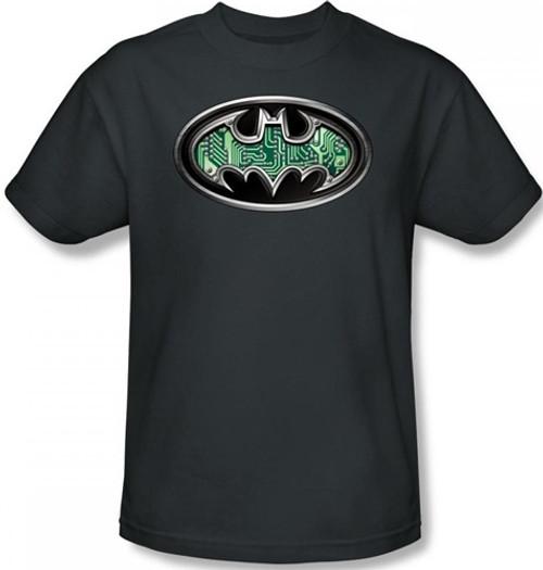 Image for Batman T-Shirt - Circuitry Shield Logo