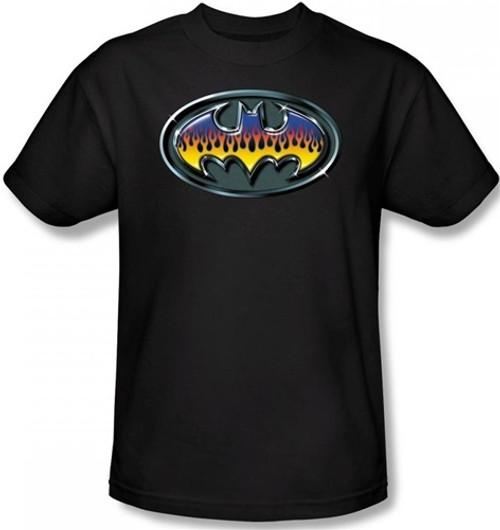 Image for Batman T-Shirt - Hot Rod Shield Logo