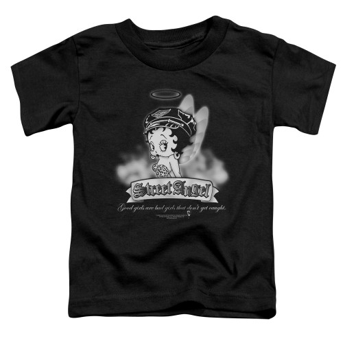 Image for Betty Boop Toddler T-Shirt - Street Angel