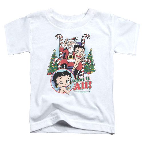 Image for Betty Boop Toddler T-Shirt - I Want It All